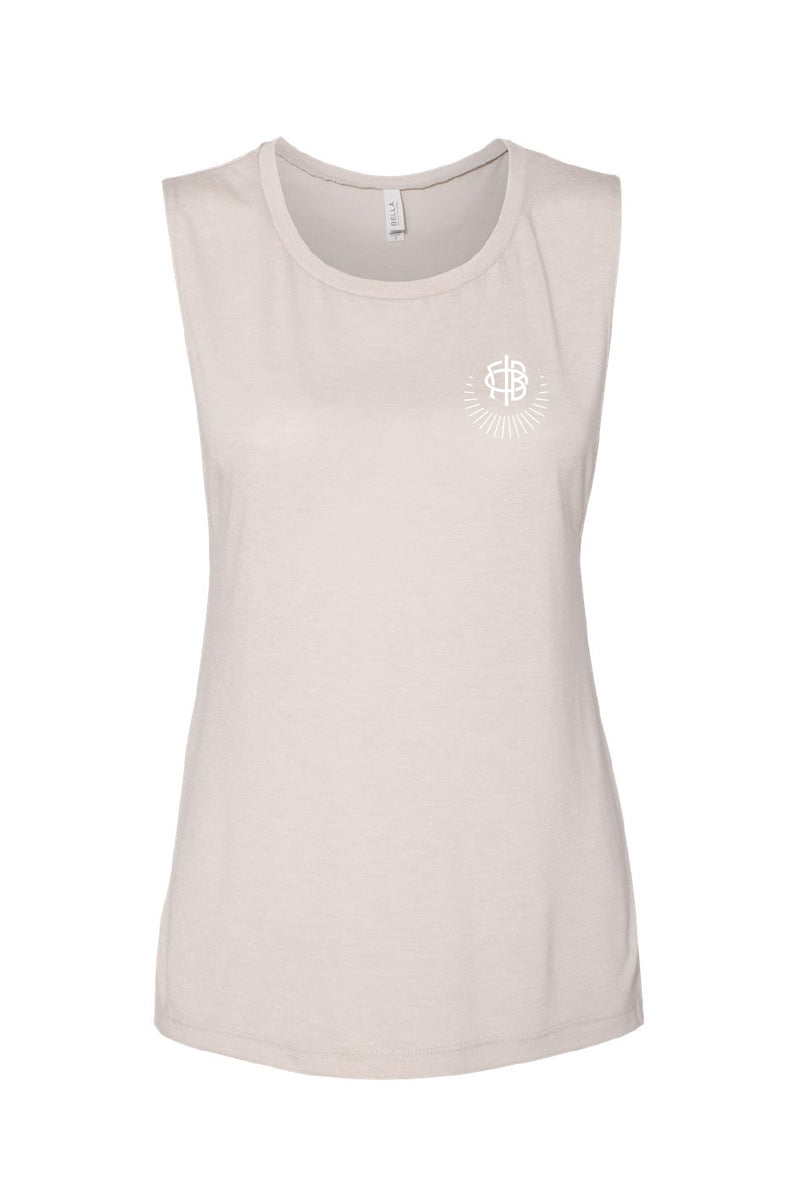 Logo Muscle Tee - Crescent Corner - Gamma Phi Beta Official Online Store