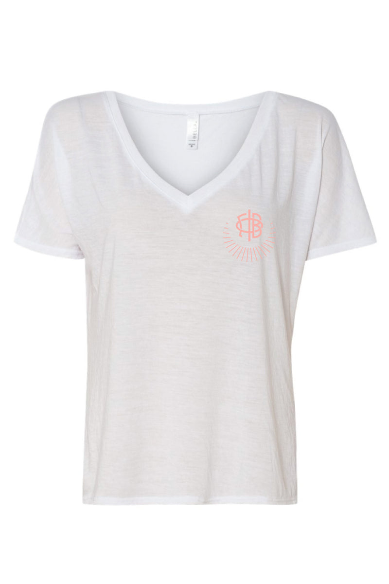 Slouchy Logo Tee - Crescent Corner - Gamma Phi Beta Official Online Store