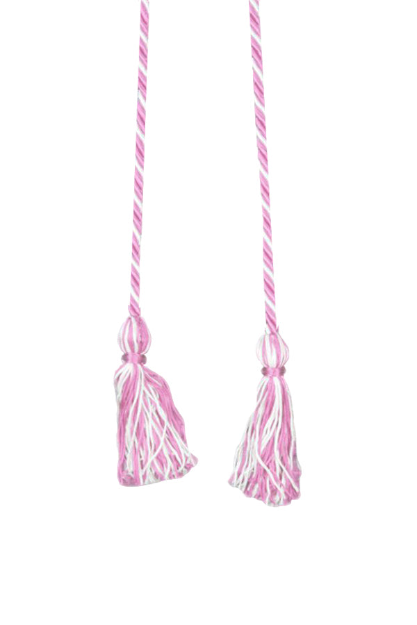 Pink and White Graduation Cord - Crescent Corner - Gamma Phi Beta Official Online Store