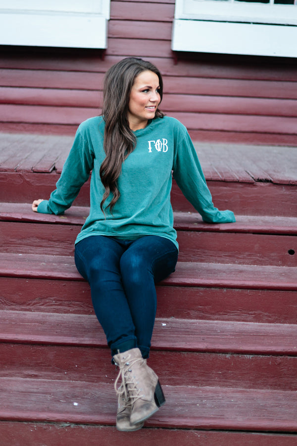 Blue Spruce Long Sleeve T