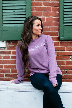 Berry Long Sleeve Shirt - Crescent Corner - Gamma Phi Beta Official Online Store