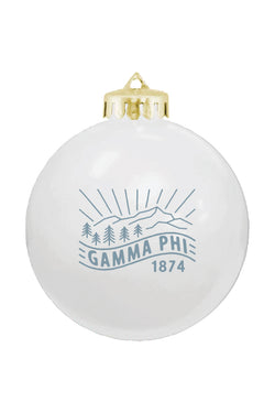 Holiday Ornament (2019) - Crescent Corner - Gamma Phi Beta Official Online Store