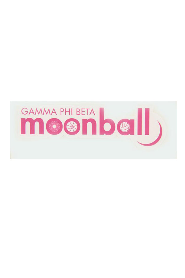 Large Moonball Sticker - Crescent Corner - Gamma Phi Beta Official Online Store