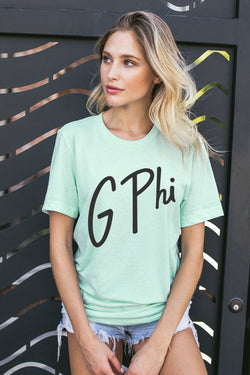 Beverly Tee - Crescent Corner - Gamma Phi Beta Official Online Store