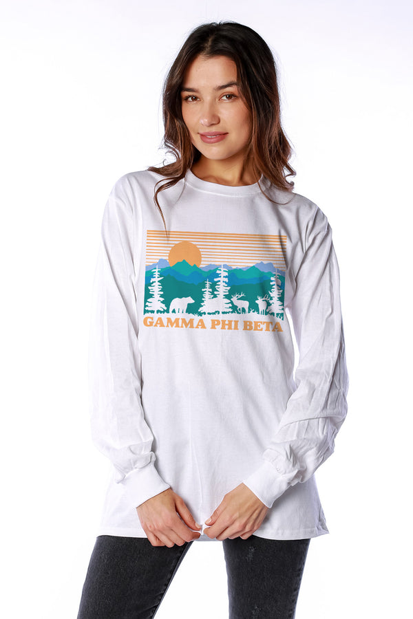 Deer Valley Long Sleeve - Crescent Corner - Gamma Phi Beta Official Online Store