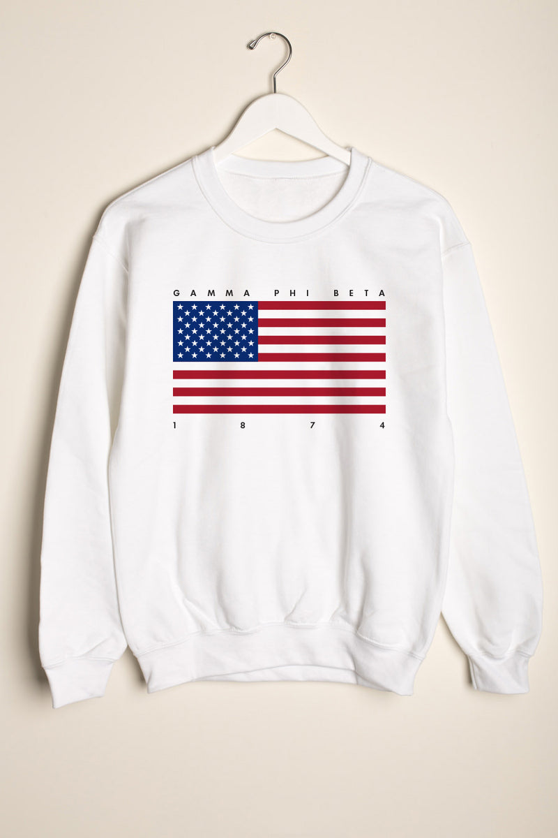 Independence Crewneck - Crescent Corner - Gamma Phi Beta Official Online Store