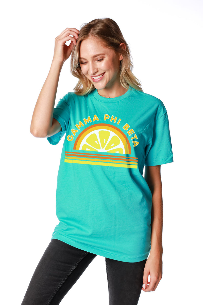 Juicy Tee - Crescent Corner - Gamma Phi Beta Official Online Store