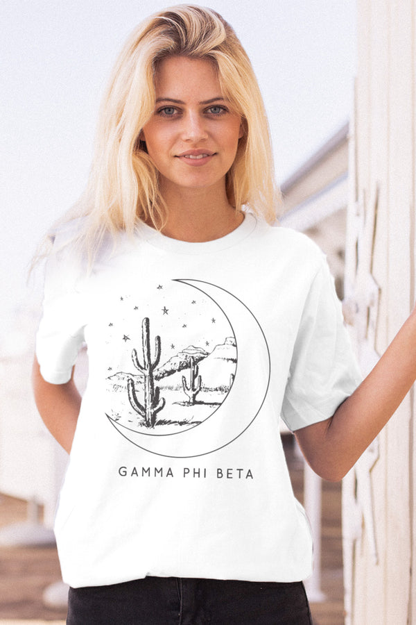 Mojave Moon Tee - Crescent Corner - Gamma Phi Beta Official Online Store