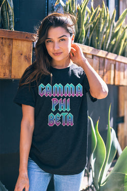 Rock n Roll Tee - Crescent Corner - Gamma Phi Beta Official Online Store