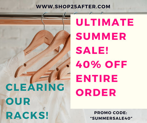 The Ultimate SUMMER SALE!!! - CLEARING RACKS