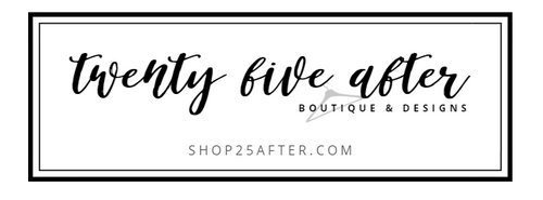 25 After Boutique & Designs