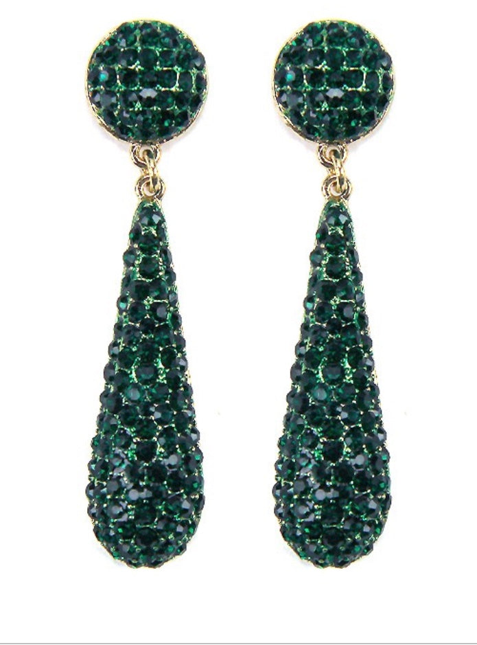Kali Teal Earrings