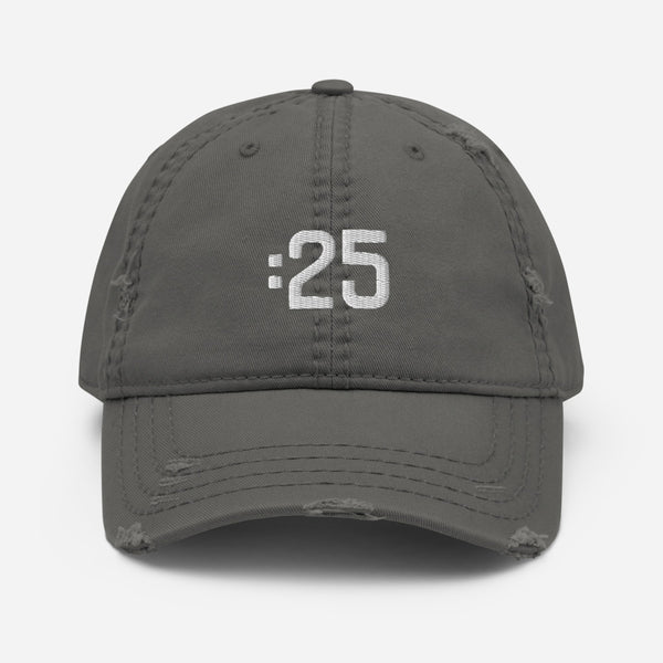 The Brand Distressed Dad Hat