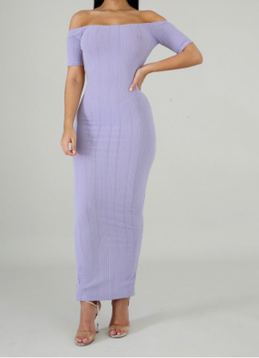 Lavender Lily Spring Dress