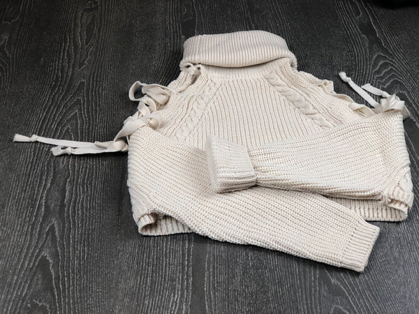 """String Me Along"" Knit Sweater"