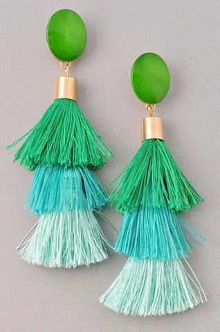 Havana Nights Tassel Earrings