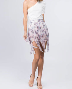 Lavender Love Mini Skirt