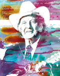 Bill Monroe Watercolor
