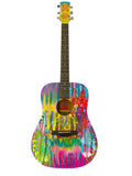 Flower Fire Guitar