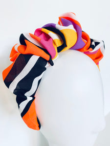 Knotted Headband - Colouring In
