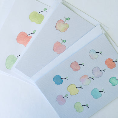 Hand Painted Gift Card Pack - Teacher