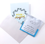 Christmas Tea and Card Bundle