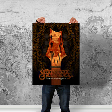 Instrument Of Peace (Black) - Poster (Vertical)
