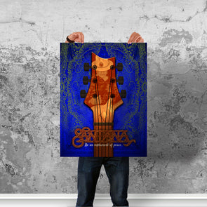 Instrument Of Peace (Blue) - Poster (Vertical)