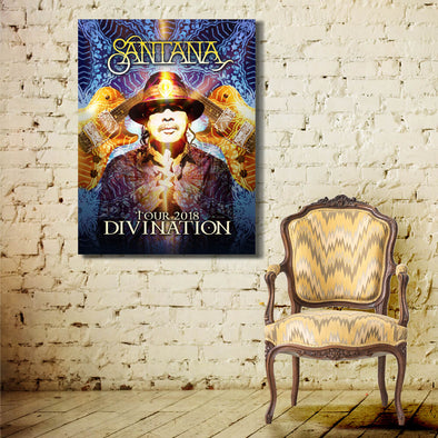 Divination Tour 2018 - Canvas Wall Art 1 Panel