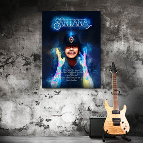 Santana Energy - Canvas Wall Art 1 Panel