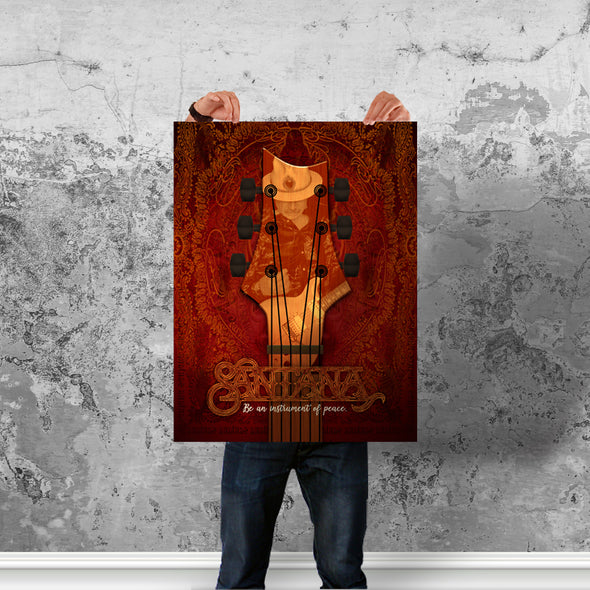 Instrument Of Peace (Red) - Poster (Vertical)