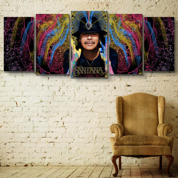 The Power Of The Mind - Canvas Wall Art 5 Panel PT