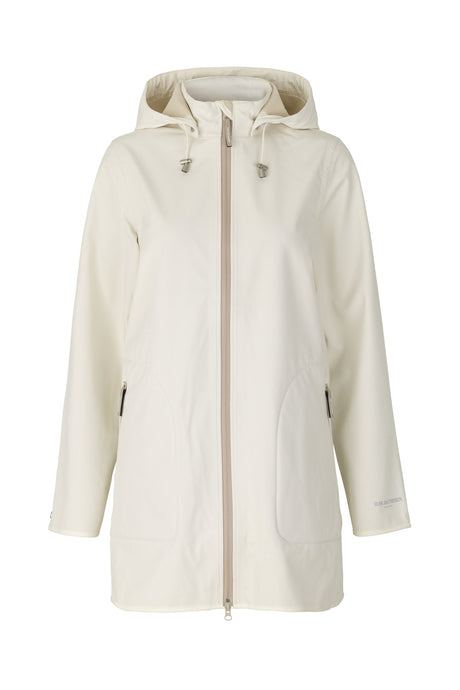 Ilse Jacobsen White Sugar Rain 135b Soft Shell Raincoat