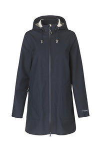 Ilse Jacobsen Navy Rain 135b Raincoat