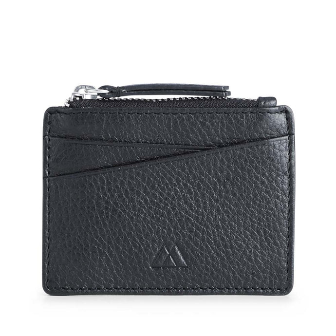 Markberg Black Frey Zip card Holder