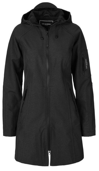 Ilse Jacobsen Black Rain 37 Raincoat