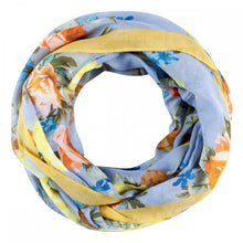 Load image into Gallery viewer, Codello Blue Flower Print Loop