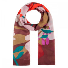 Load image into Gallery viewer, Codello Flower Print Scarf