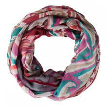 Load image into Gallery viewer, Codello Plum Multi Printed Scarf
