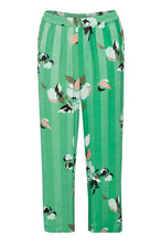 Load image into Gallery viewer, Inwear Green Flower Print Trouser