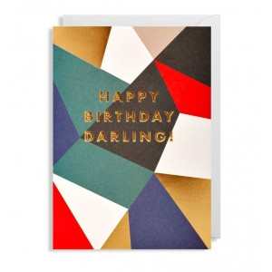 Happy Birthday Darling Card