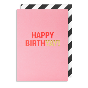 Happy Birthyay Card