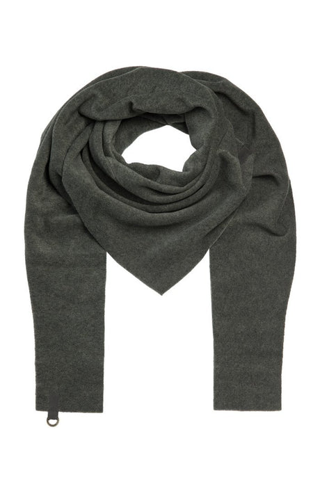 Henriette Steffenson Forest Fleece Triangle Scarf