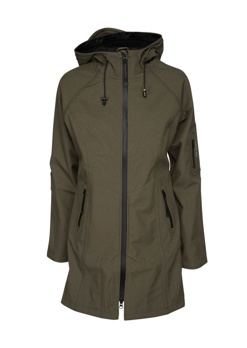 Ilse Jacobsen Army Green Rain 37 Raincoat