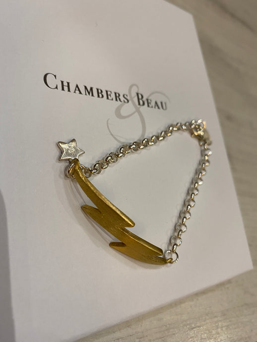 Chambers and Beau Electric Bolt Bracelet