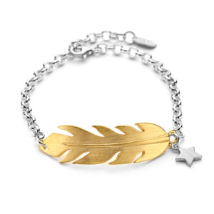Chambers and Beau Feather Bracelet