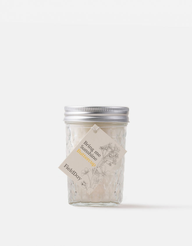 Field Day Buttercup Jam Jar Candle
