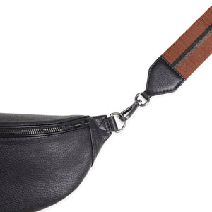 Markberg Black Leather Izzy Bumbag