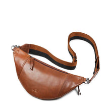 Load image into Gallery viewer, Markberg Chestnut Leather Elinor Bum Bag