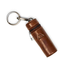 Load image into Gallery viewer, Markberg Chestnut Lipstick Case Keyring